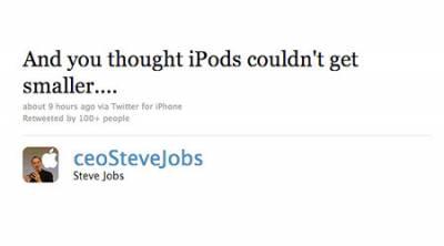 Стив Джобс в Twitter
