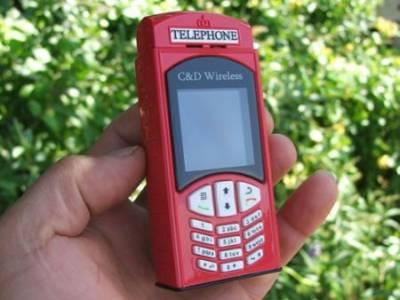 Настоящий английский мобильный телефон
