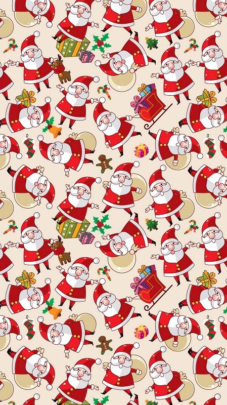 обои Санта Клаус